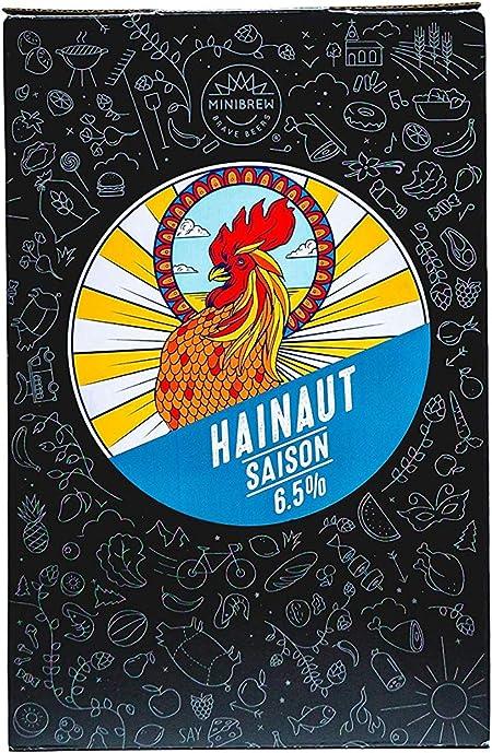 MiniBrew Brew Pack Saison Ingredientes para elaborar Cerveza Pale ale Belga Craft (6,5%): Amazon.es: Hogar