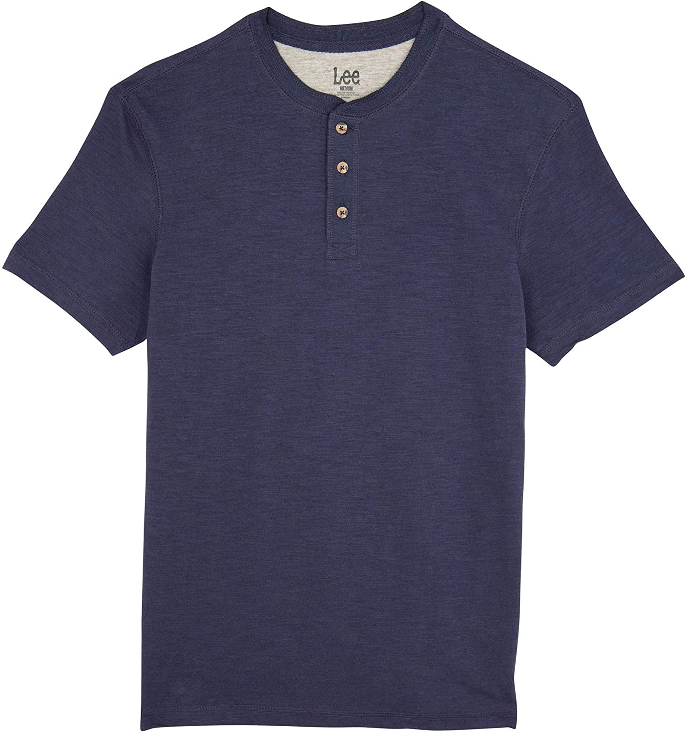 LEE Men's Short Sleeve Henley Shirt P000533380