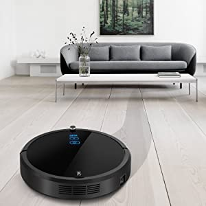 DEIK Robot Vacuum Cleaner with Max Power Suction