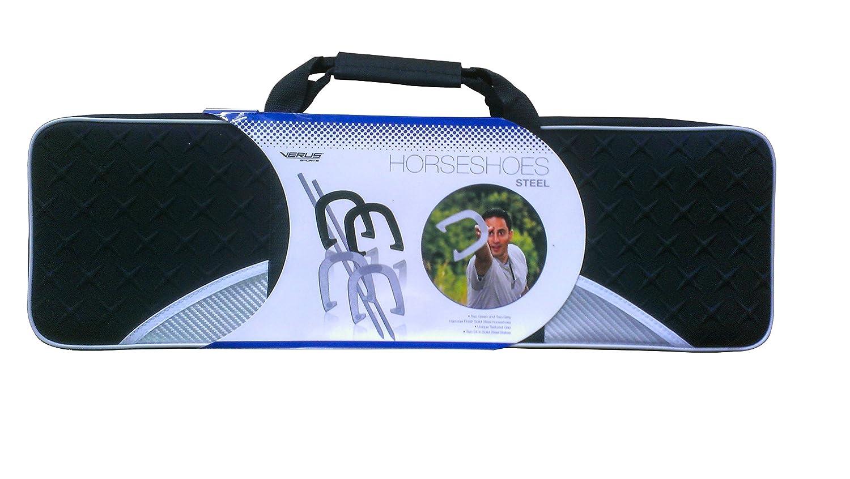 HO500SAM Verus Sports Expert Metal Horseshoe Set Grey//Dark Green Inc