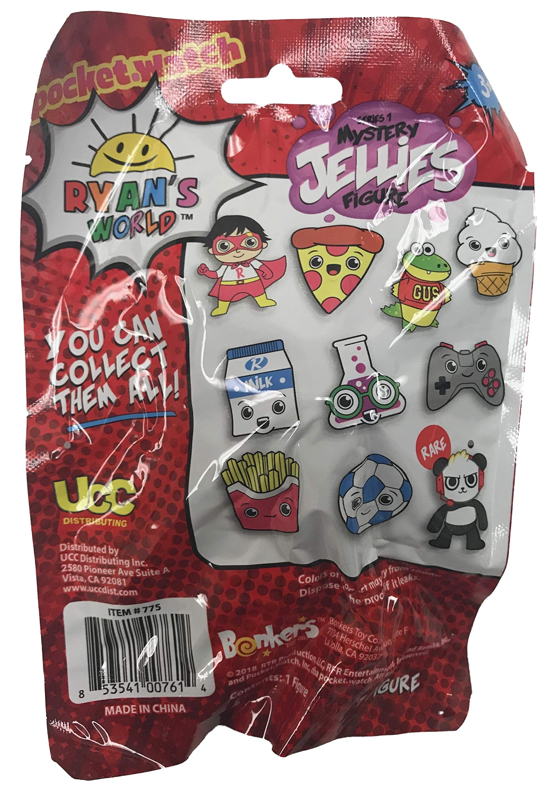 Ryan's World Surprise Jellies Squishy Toy Lot of 6 - Includes 6 Random Characters by Ryan's Toy Review by Ryan's World (Image #2)