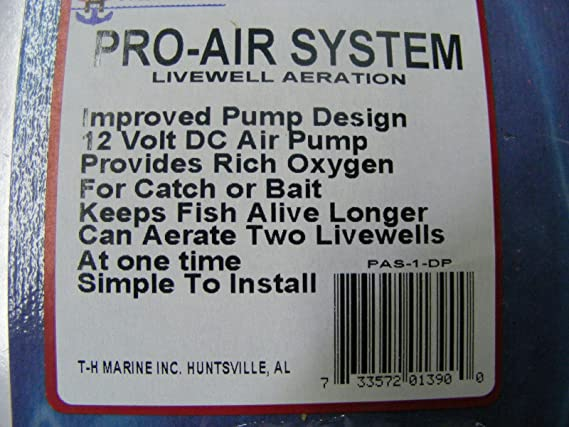 TH Marine Pro-Air System Livewell Aeration PAS-1-DP