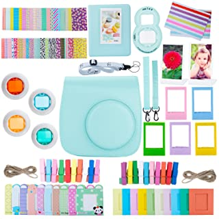 ZWOOS 12 in 1 Accessori Kit per Fujifilm Instax Mini 8/ Mini 9, Custodia per Instax Mini 8/ Mini 9(Uccello) pour Fujifilm Instax Mini 8/9
