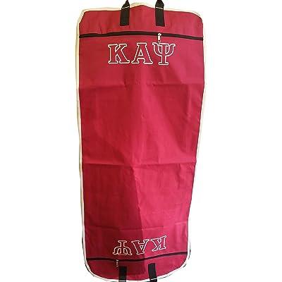 """Kappa Alpha Psi Garment Bag [Crimson Red - 51"""" L x 22"""" W x 3"""" D]"""