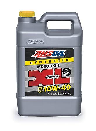 Amsoil xlo1g SAE 10 W-40 Aceite de Motor XL sintético: Amazon.es: Coche y moto