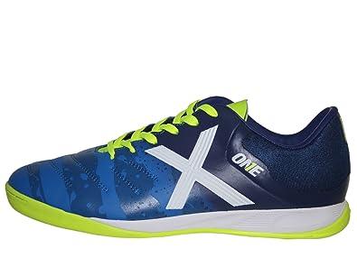Munich Herren Futsalschuhe Weiß Blau  Amazon Amazon    Schuhe & Handtaschen 25c491