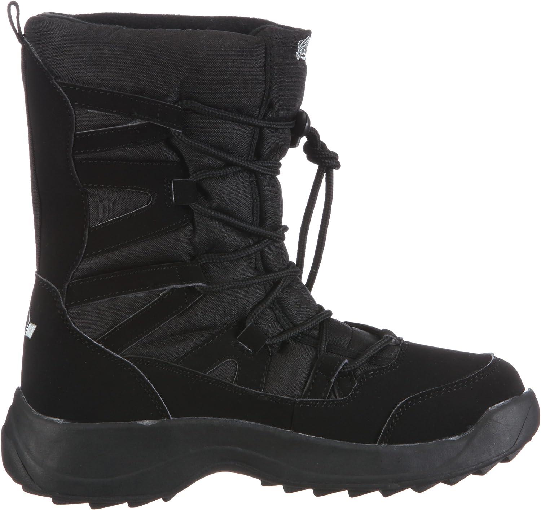 Lico Cheyenne Sneeuwlaarzen voor dames, warm gevoerd zwart, zwart
