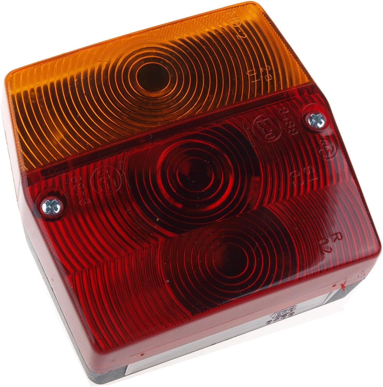 Wamo Rücklicht Rückleuchte Für Anhänger Ohne Kennzeichenbeleuchtung Auto