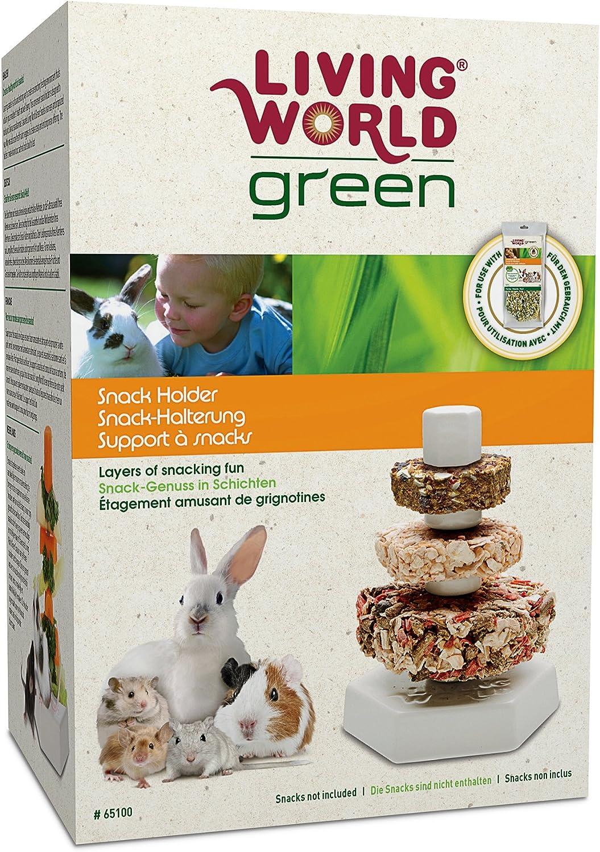Living World Green Snack Holder