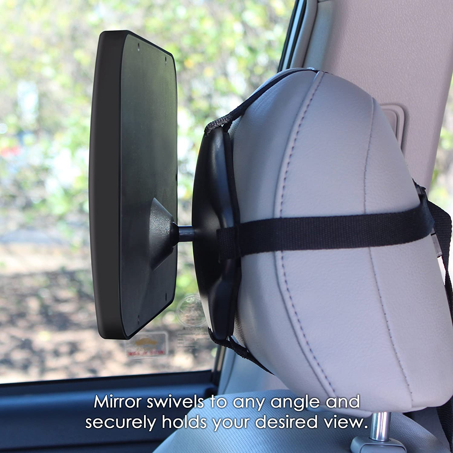 Amazon.com : Baby Backseat Mirror For Car - Largest and Most Stable ...