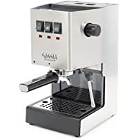 Gaggia RI9380/46 Classic Pro Espresso Machine, Solid, Brushed Stainless Steel