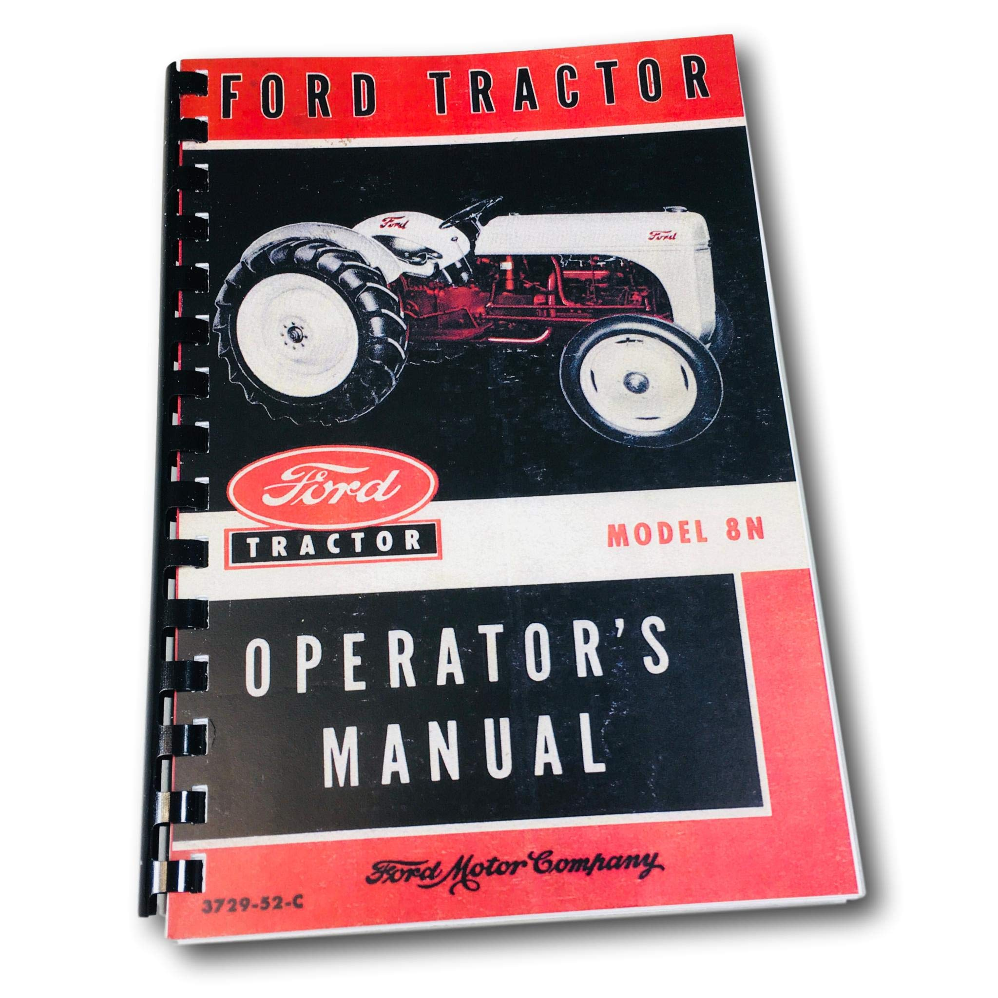 1948-1952 Ford 8N Tractor Owner's Manual Reprint: FORD TRACTOR: Amazon.com:  Books