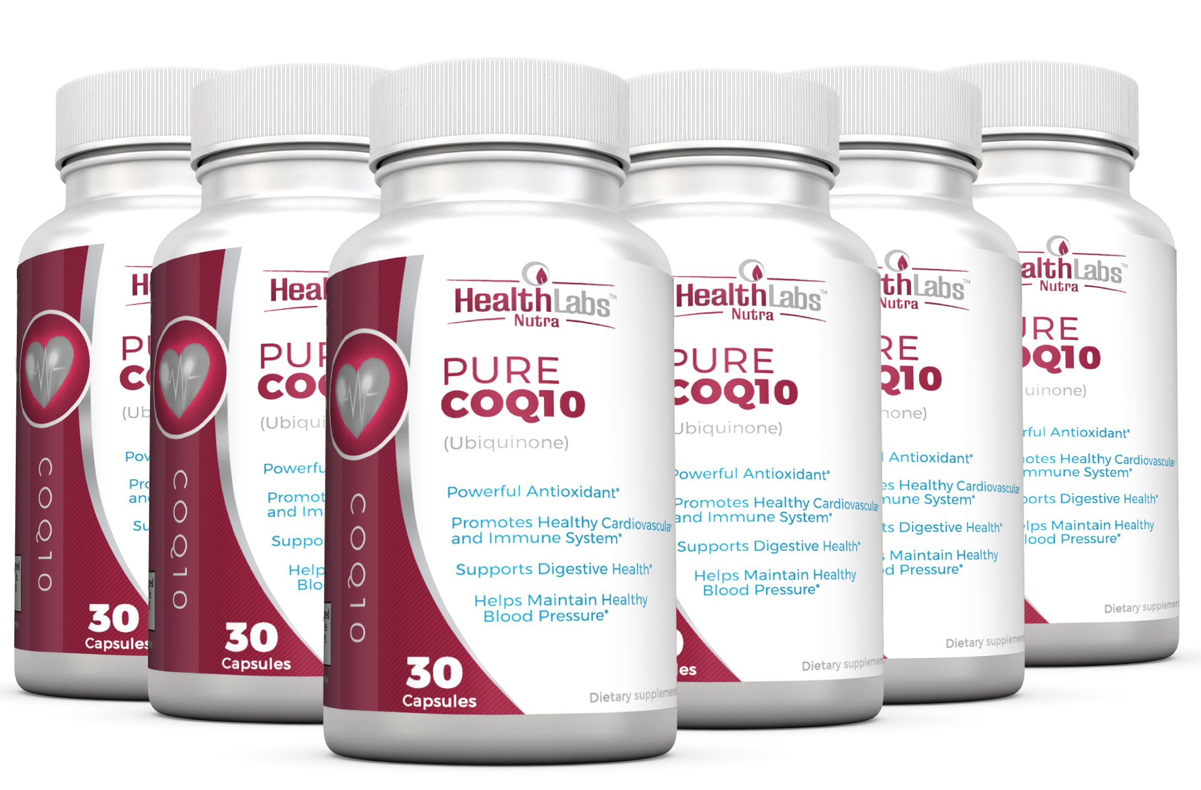 CoQ10 Ubiquinone 200mg (6-Month Supply) - Promotes Increased Cell Energy & Protection; Supports Heart, Immune & Nervous System Health | Vegan-Friendly Ingredients