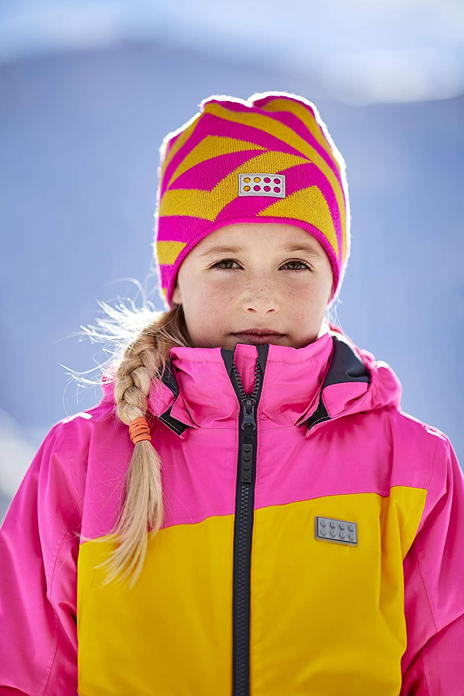 LEGO Wear Kids Striped Fleece-Lined Snow Beanie
