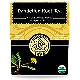 Organic Dandelion Root Tea – 18 Bleach-Free Tea Bags – Caffeine-Free Tea with a Rich, Earthy Taste, Natural Source of…