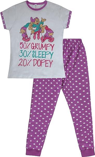 The Pyjama Factory - Pijama - para mujer Blanco blanco 38 40 ...