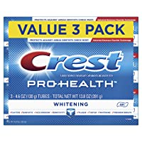 Crest Pro-Health Whitening Gel Toothpaste, 4.6 oz, 3 Count, Triple