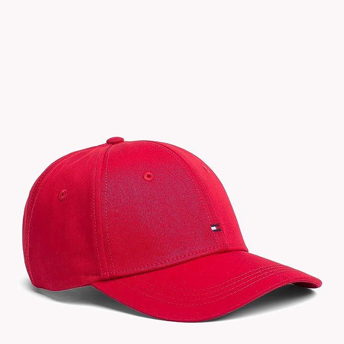Tommy Hilfiger Gorra Classic Rojo Mujer y Hombre U Rojo: Amazon.es ...