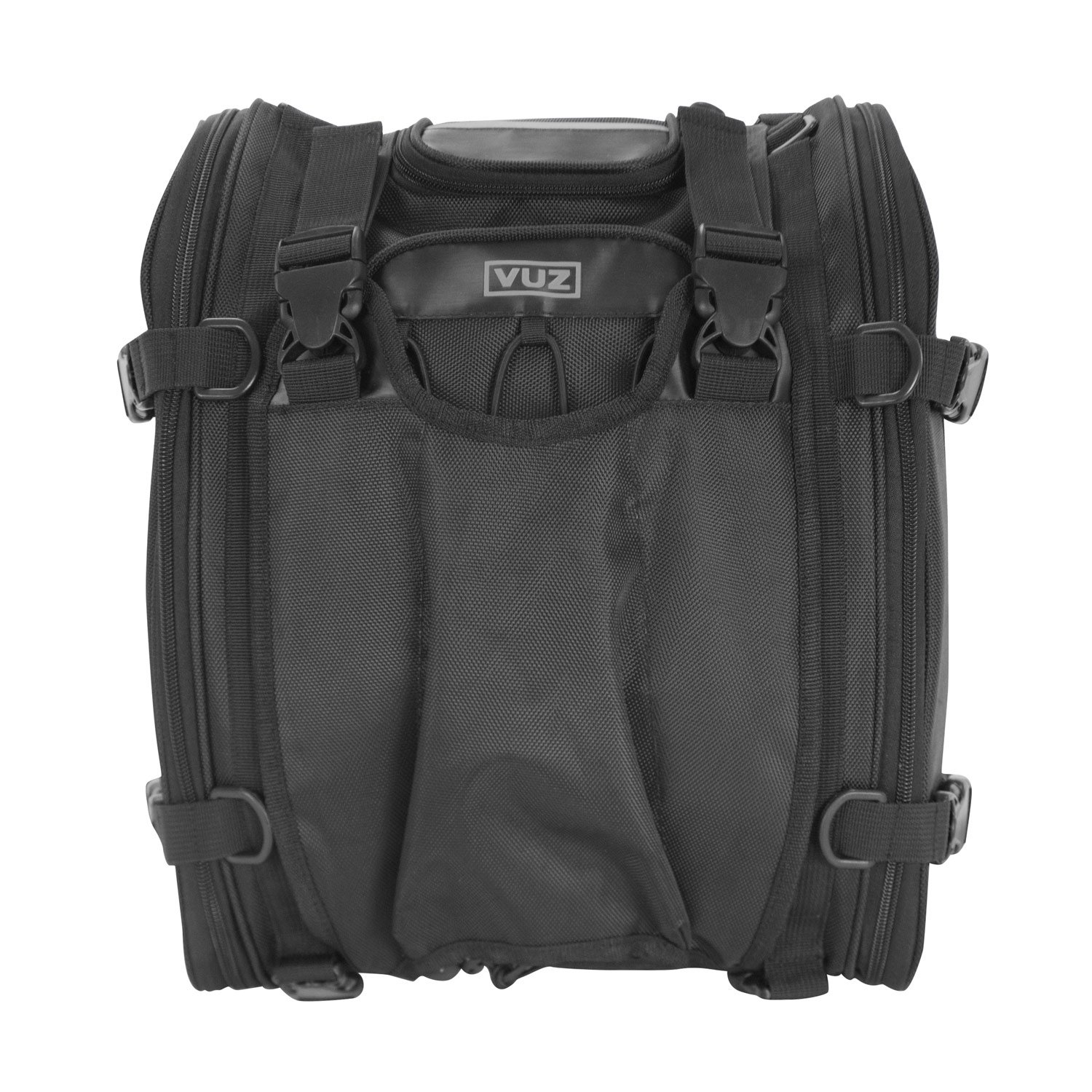 Vuz Moto Expandable Motorcycle Tail Bag | Waterproof Motorcycle Luggage | For a Adventure and Urban Riders