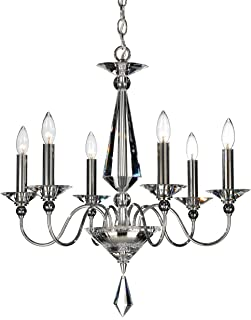 product image for Schonbek 9676-40CL Swarovski Lighting Jasmine Chandelier, Silver