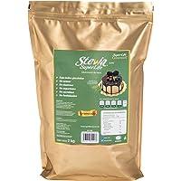 Stevia Super Life Gourmet para hornear y caramelizar 2 kg a granel, Sin azúcar