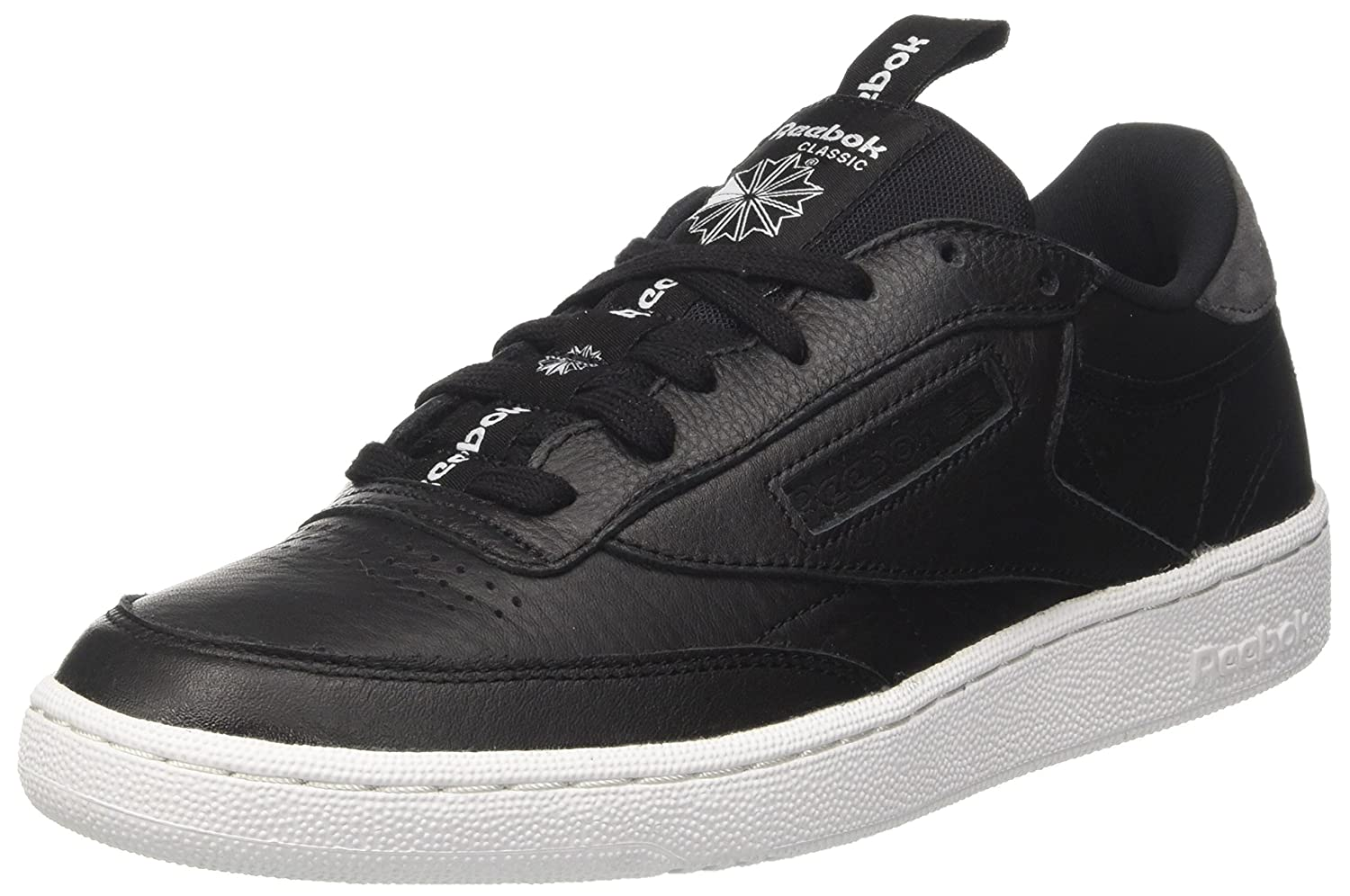 3b7adac1654 Reebok Men s Club C 85 It Black Coal White Sneakers - 11 UK India (45.5  EU)(12 US) (BS6211)  Buy Online at Low Prices in India - Amazon.in