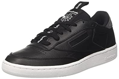 Reebok Club C 85 IT, Chaussures de Gymnastique Homme, Noir (Black/Coal/White), 45 EU