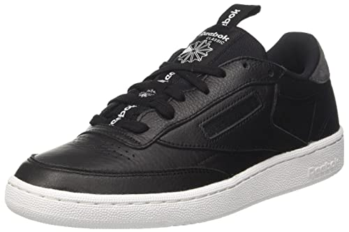 fe3c1fc3c4c Reebok Men s Club C 85 It Black Coal White Sneakers - 11 UK India (45.5  EU)(12 US) (BS6211)  Buy Online at Low Prices in India - Amazon.in