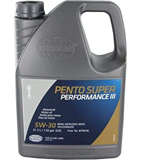 Pentosin 8078206 Pento Super Performance III 5W-30 Synthetic Motor Oil - 5 Liter