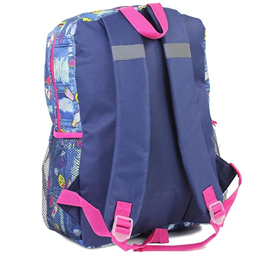 5fdca56a71 Amazon.com  Girls Confetti 5 Piece Backpack Set. BackPack