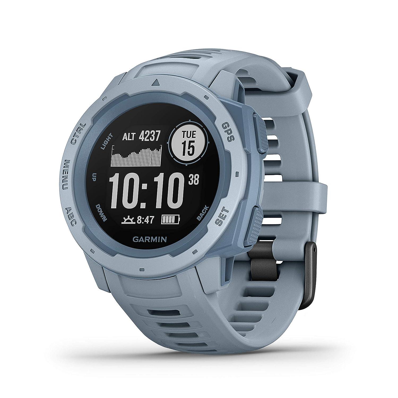 Garmin InstinctSeafoam Rubber Smart Watch (Blue)