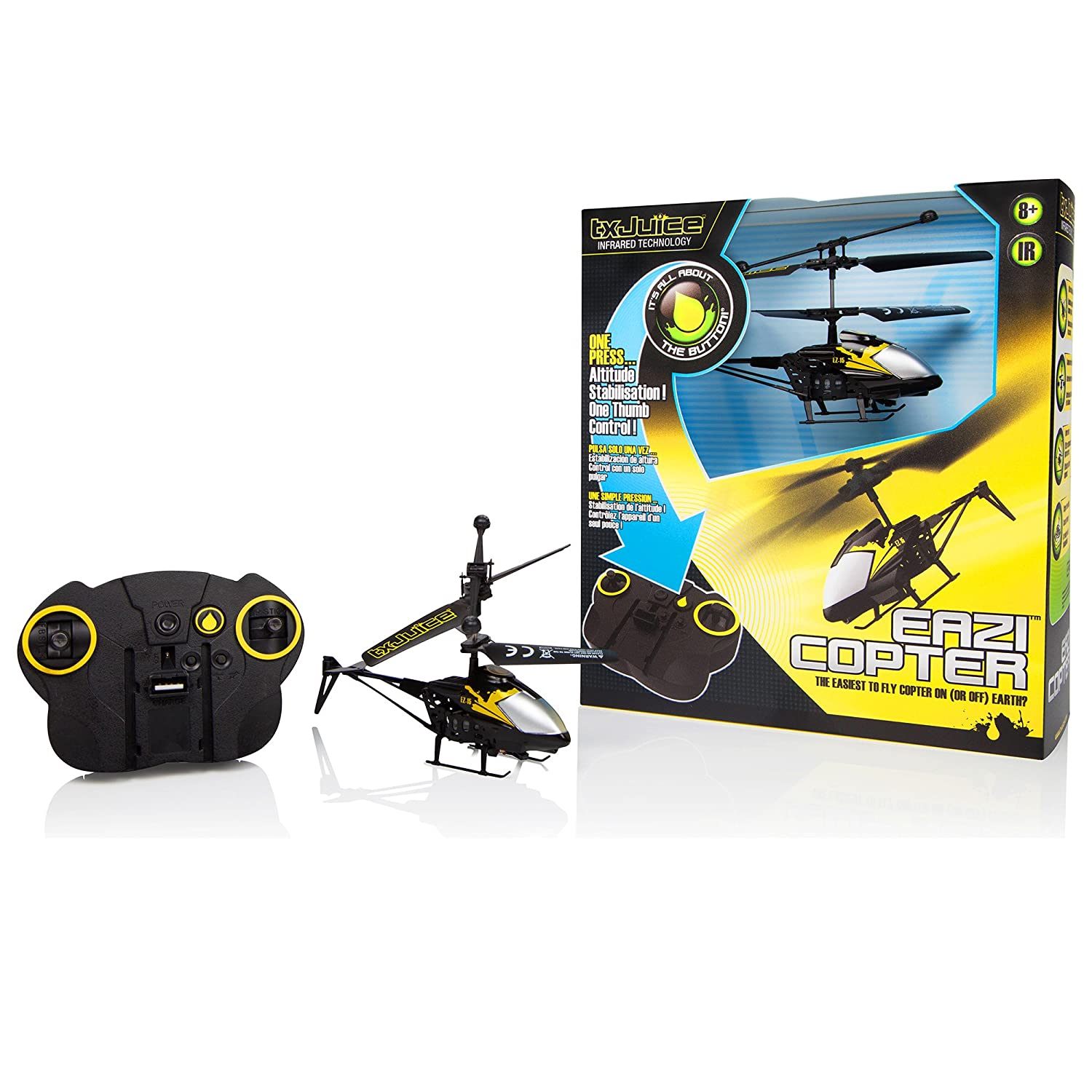 Amazon TX Juice EAZI Copter World s First R C Helicopter