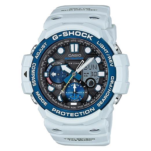 Casio G-Shock GN1000C-8A - Reloj de pulsera para hombre, digital, cuarzo, esfera ahumada, resina, con cronómetro: Casio - G-Shock: Amazon.es: Relojes
