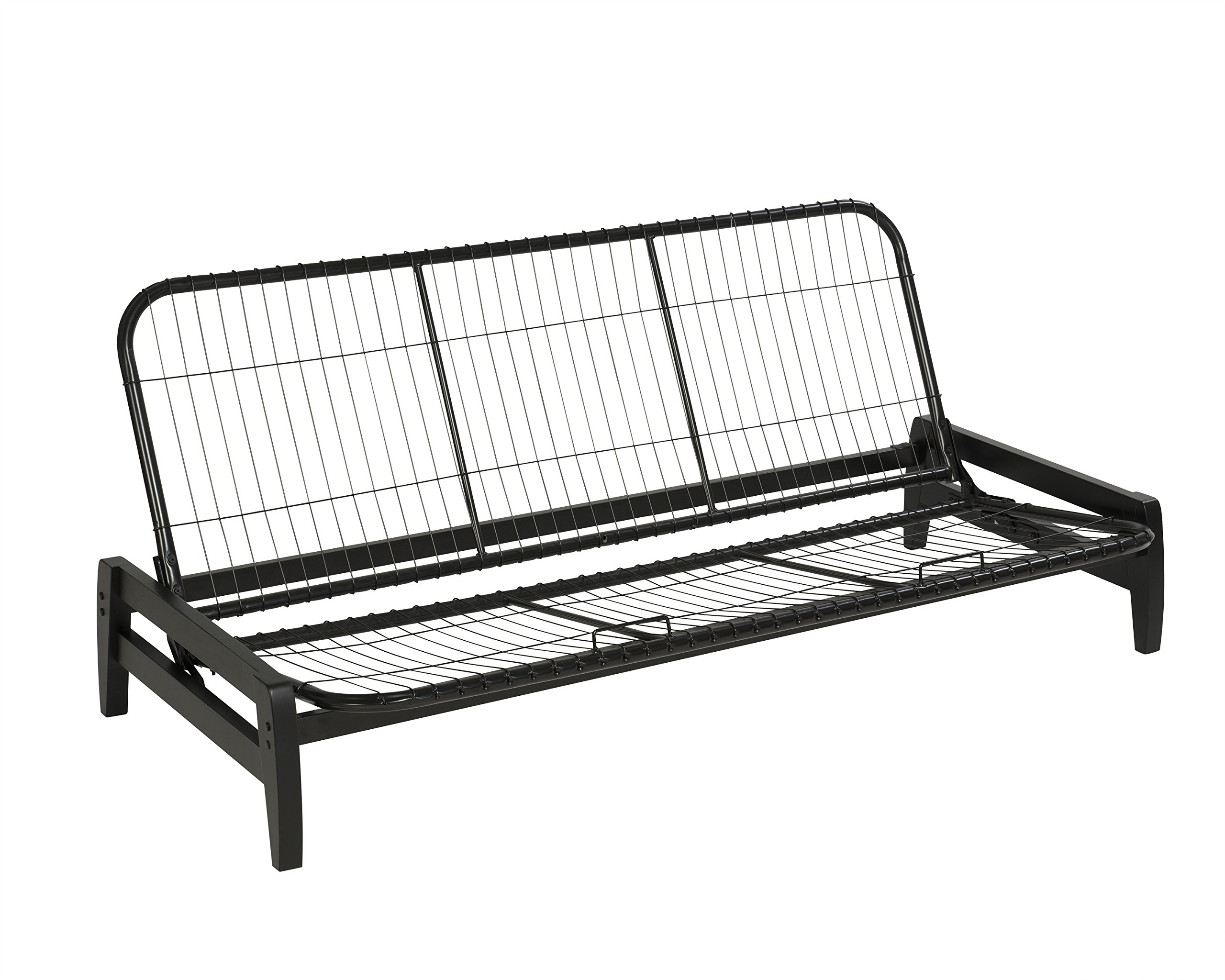 Serta Phoenix Futon Frame, Queen, Black by WOLF