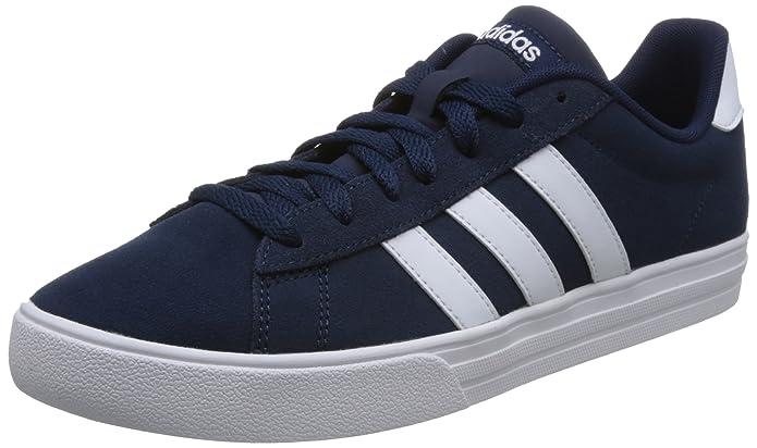 adidas Daily 2.0 Sneaker Herren blau mit weißen Streifen