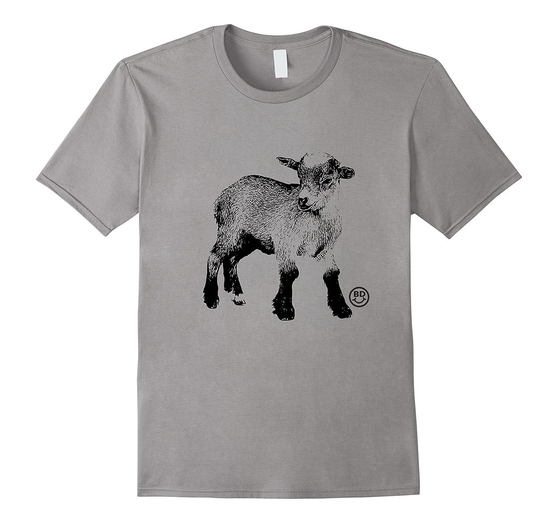 GOAT YOGA T-Shirt Place Goat Here-Vaci