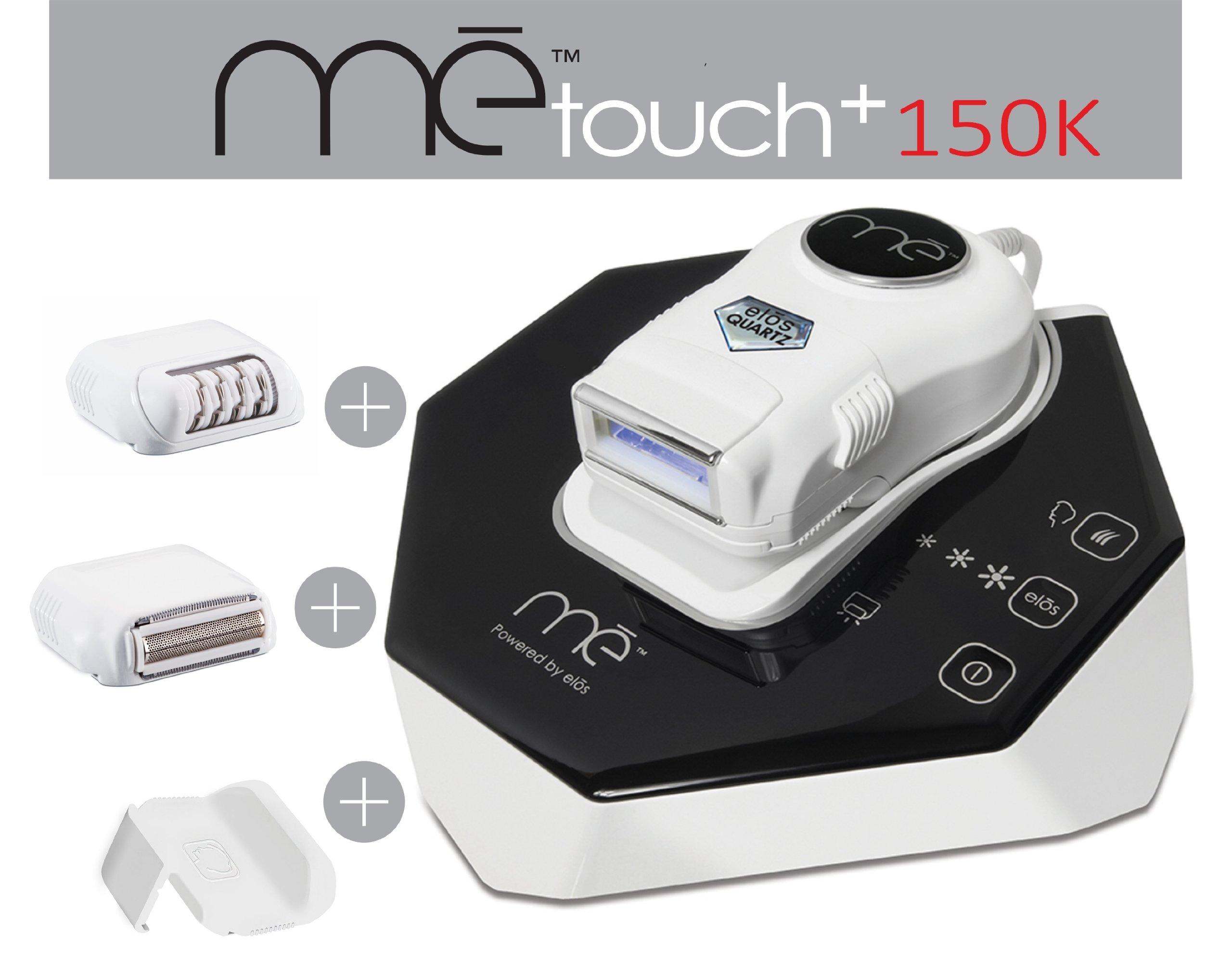 The New Elos Touch + 150,000 Puls Quartz Lamp + Epilator + Shaver + Precision Adaptor