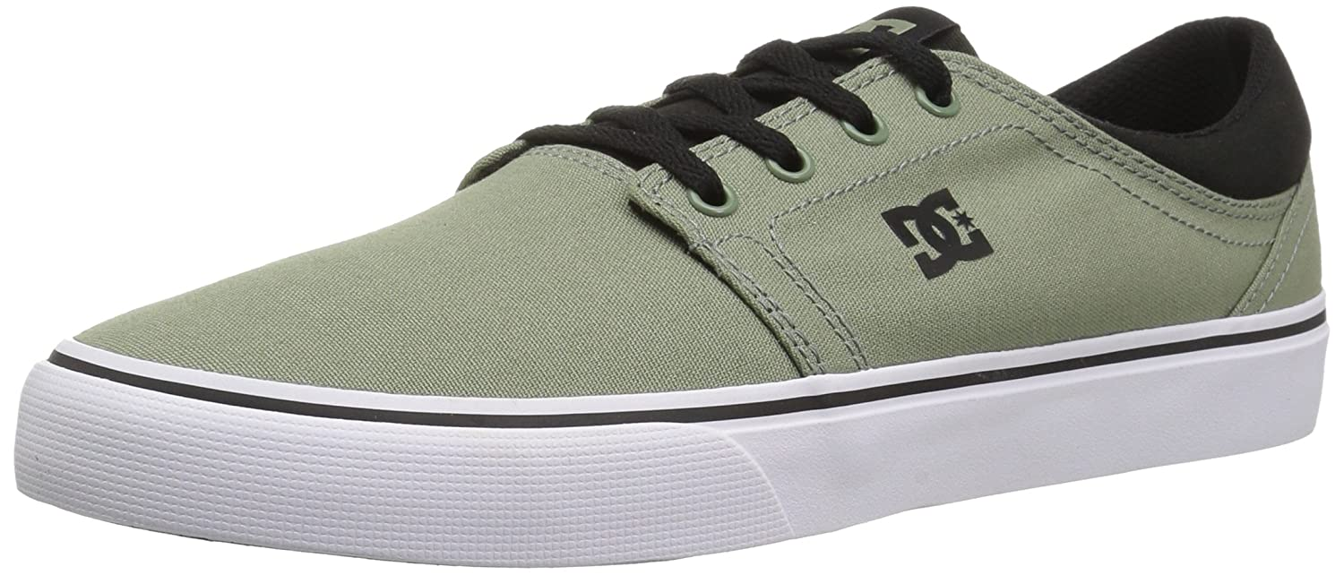 DC Men's Trase TX Unisex Skate Shoe B0758VK2C6 11 D D US|Olive Green