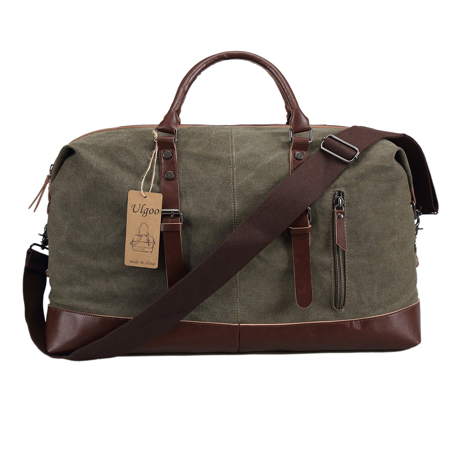 Amazon.com | Carry On Bag Canvas Travel Duffel Tote Unisex ...