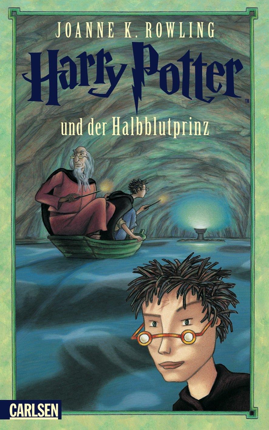 Harry Potter Band 6 Harry Potter Und Der Halbblutprinz Amazon De Rowling Joanne K Fritz Klaus Bucher