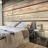 murando - Fotomural 50x35 cm - Papel tejido-no tejido - Papel pintado - madera f-a-0440-a-b