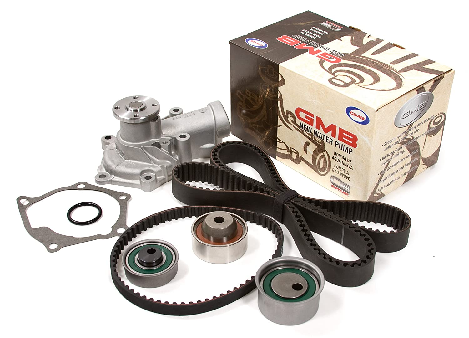 Evergreen Tbk332wp 04 07 Mitsubishi Eclipse Galant Timing Belt Kit Outlander 24l 4g69 Gmb Water Pump Automotive