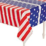 Stars and Stripes Table Cover (1 pc)