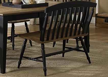 Tremendous Amazon Com Liberty Furniture Al Fresco Ii Slat Back Dining Caraccident5 Cool Chair Designs And Ideas Caraccident5Info