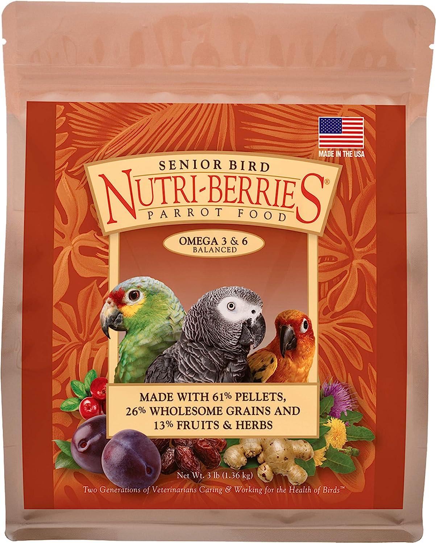 LAFEBER'S Senior Nutri-Berries Bird Food and Treat