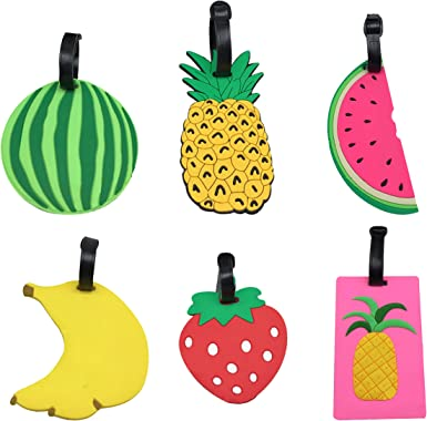 2 Pack Luggage Tags Banana Cruise Luggage Tag For Travel Tags Accessories