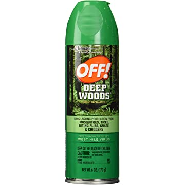 top selling Off Deep Woods Insect Repellent Spray