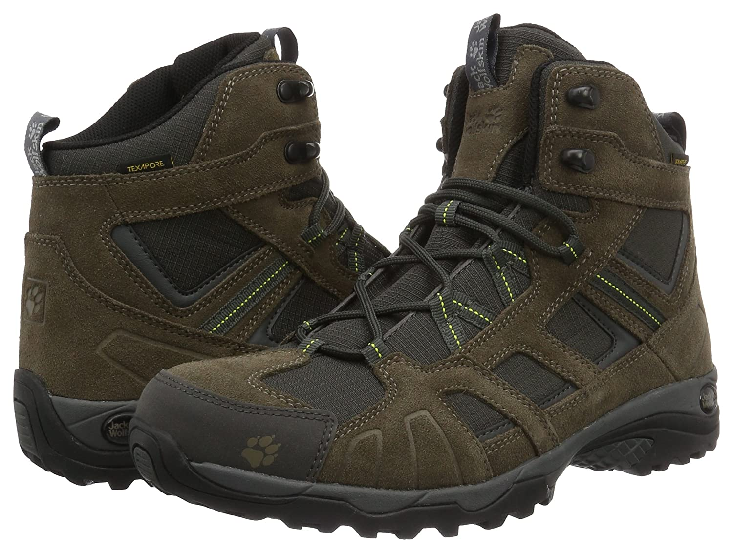 29d01a9175e Amazon.com | Jack Wolfskin Vojo Hike MID Texapore Men Boot | Hiking ...