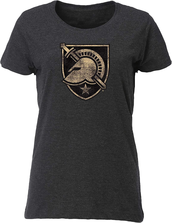 NCAA Army Black Knights Womens Womens Vintage Blend Relaxed Fit TeeWomens Vintage Blend Relaxed Fit Tee Vintage Smoke S