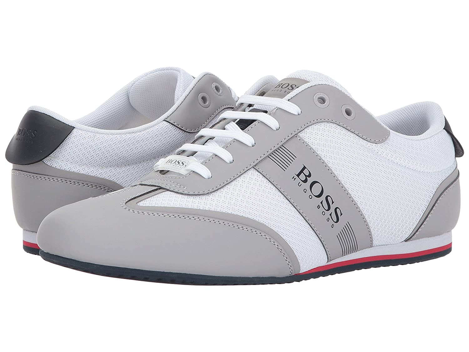 [ヒューゴボス] BOSS Hugo Boss メンズ Lighter Low Mesh Sneaker by BOSS Green スニーカー [並行輸入品] B074FWZD3N